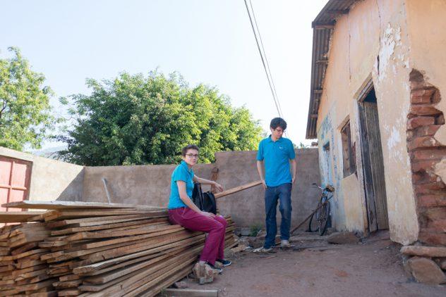 Buying timber in Kisangara