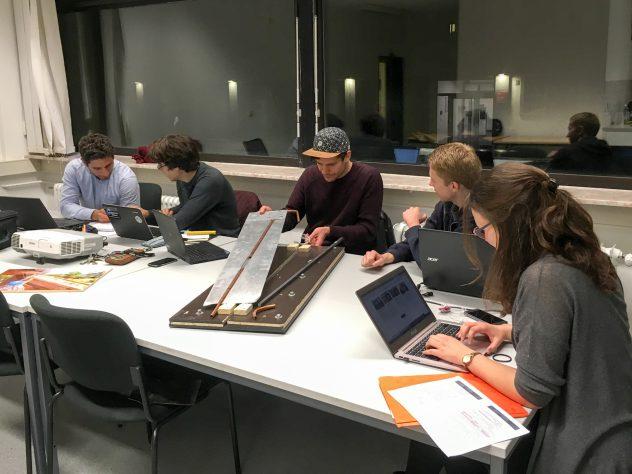 Das SoWaDi Team bei der Arbeit in Darmstadt